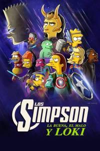 Los Simpson: La buena, el malo y Loki (2021) HD 1080p Latino