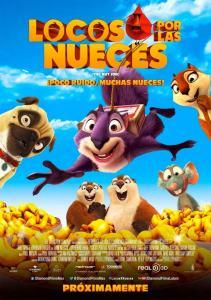 Locos por las nueces (2014) HD 1080p Latino