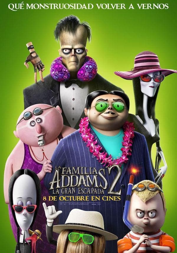 La familia Addams 2: La gran escapada (2021) HD 1080p Latino