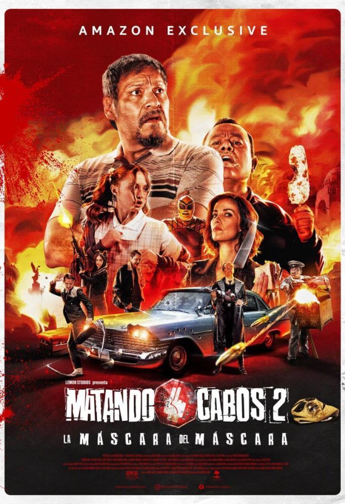 Matando Cabos 2: La máscara del Máscara (2021) HD 1080p Latino