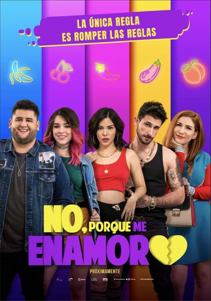 No, porque me enamoro (2020) HD 1080p Latino