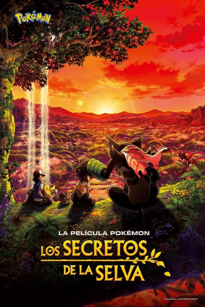 Pokémon: Los secretos de la selva (2020) HD 1080p Latino