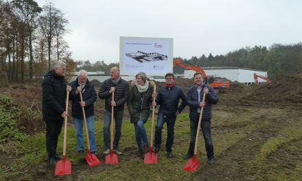 Ground-breaking ceremony: Ruwac expands production and administration