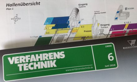 PROCESS TECHNOLOGY at the Achema