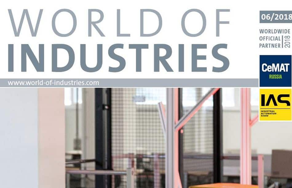 WORLD OF INDUSTRIES 6/2018 is now available!