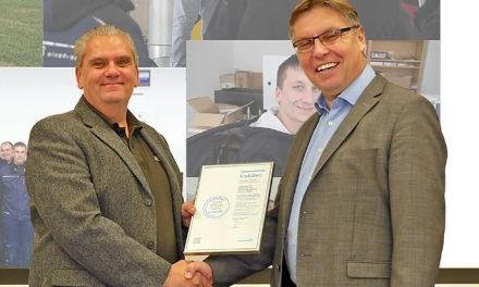 Fire protection expert T & B electronic receives award