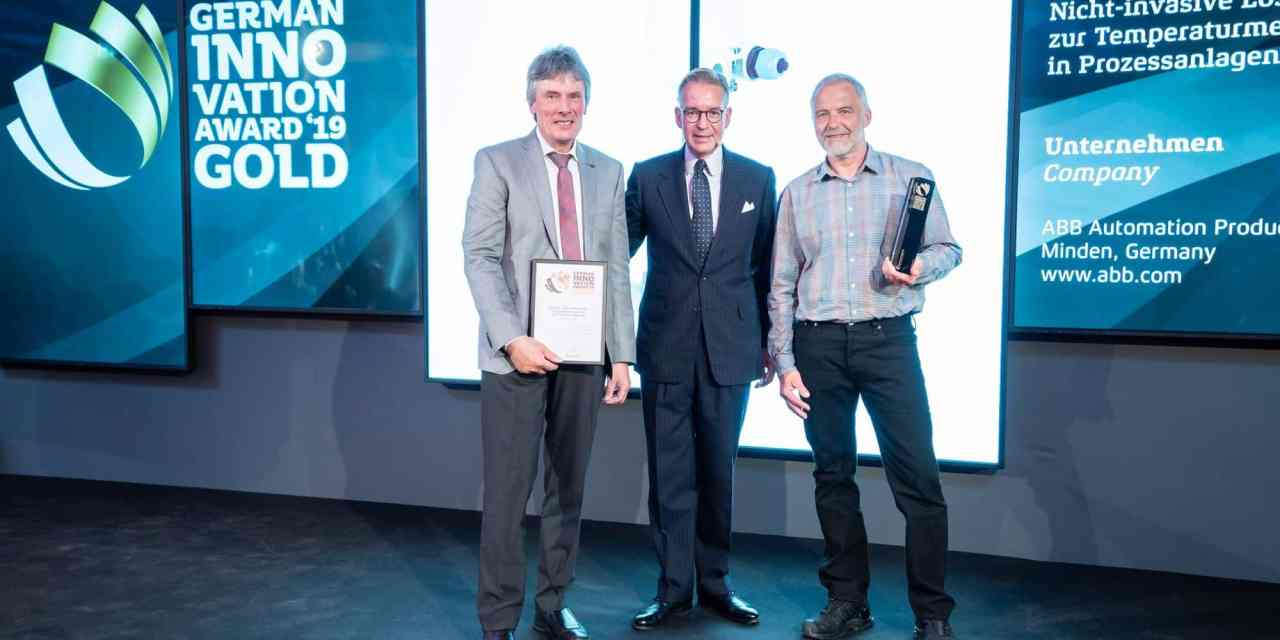Messtechnik: Temperatursensor von ABB erhält German Innovation Award