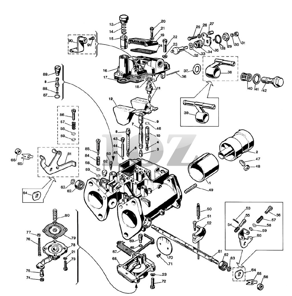 vw carb wiring wiring diagram database