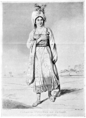 """Princess Caraboo"" From an engraving by Henry Meyer, after a picture by Edward Bird"