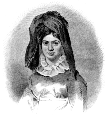 """Princess Caraboo"" Drawn and engraved by N. Branwhite"