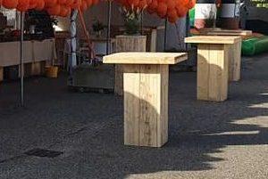 statafel hout groot