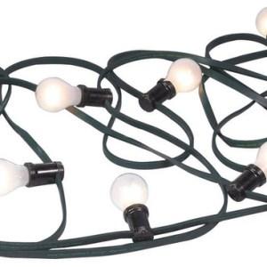 Prikkabel 80m LED wit