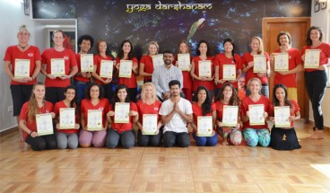 Santosh Kumar's yoga teacher training course