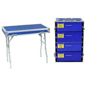 MO-4 Drawer Medical Cases with Table
