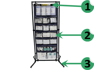 Wound Care MedKit - MK-WC tech