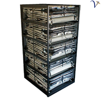 Rolling Rack for 10 Response Beds (RR-10)