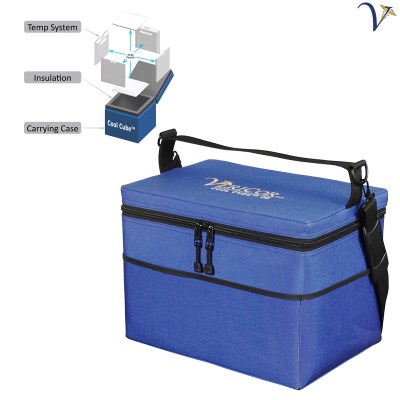 Cool Cube™ 08 Medical Transport Cooler at Frozen Temperatures 050918