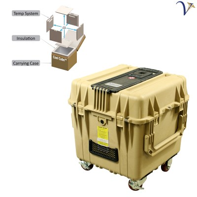 Cool Cube™ 28 Specimen Transport Cooler at Controlled Room Temperatures 050918