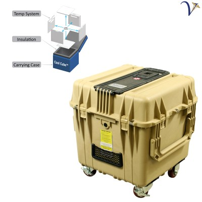 Cool Cube 420 Vaccine Transport Cooler - Vaccine Carrier