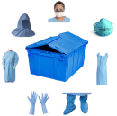 blue-tote-contents EBOLA PPE Kit