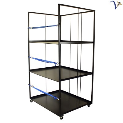 Custom Rolling Rack for Response Beds (RR-CBR)