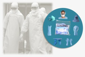 Infectious Disease Prep Ready to use EVD PPE Kits