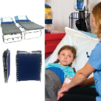Sturdy but Mobile Patient Care Beds