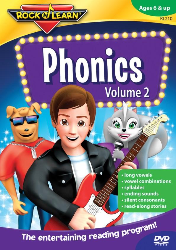 Rock 'N Learn Phonics DVD Vol 2