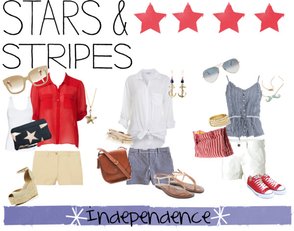 Red, White, and Blue {Stars & Stripes}