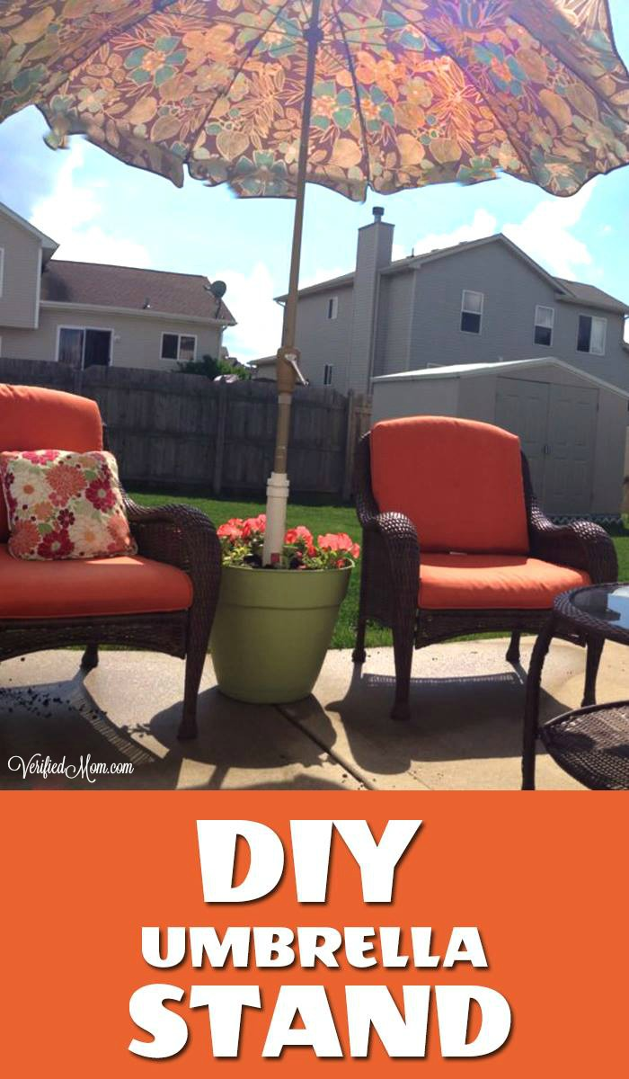 Create your own DIY Umbrella Stand in 5 simple steps!