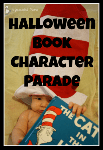 Halloween Book Character Parade
