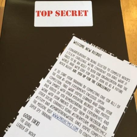 Netflix StreamTeam Top Secret Gift Box