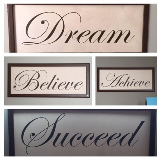 Office Wall Motivation