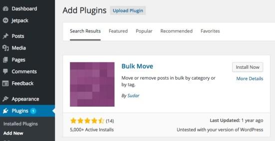 Bulk Move Plugin