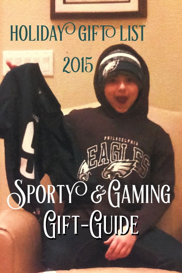 Holiday Gift List for the Sport and Game Minded Teen