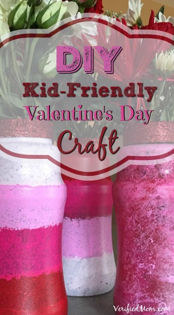 DIY Kid Friendly Valentine's Day Craft