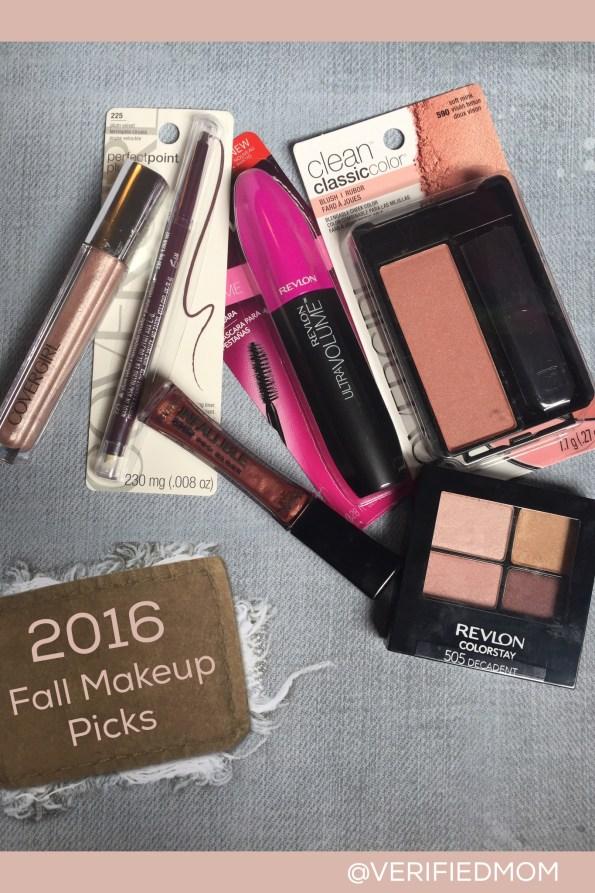 Favorite Fall Makeup for 2016