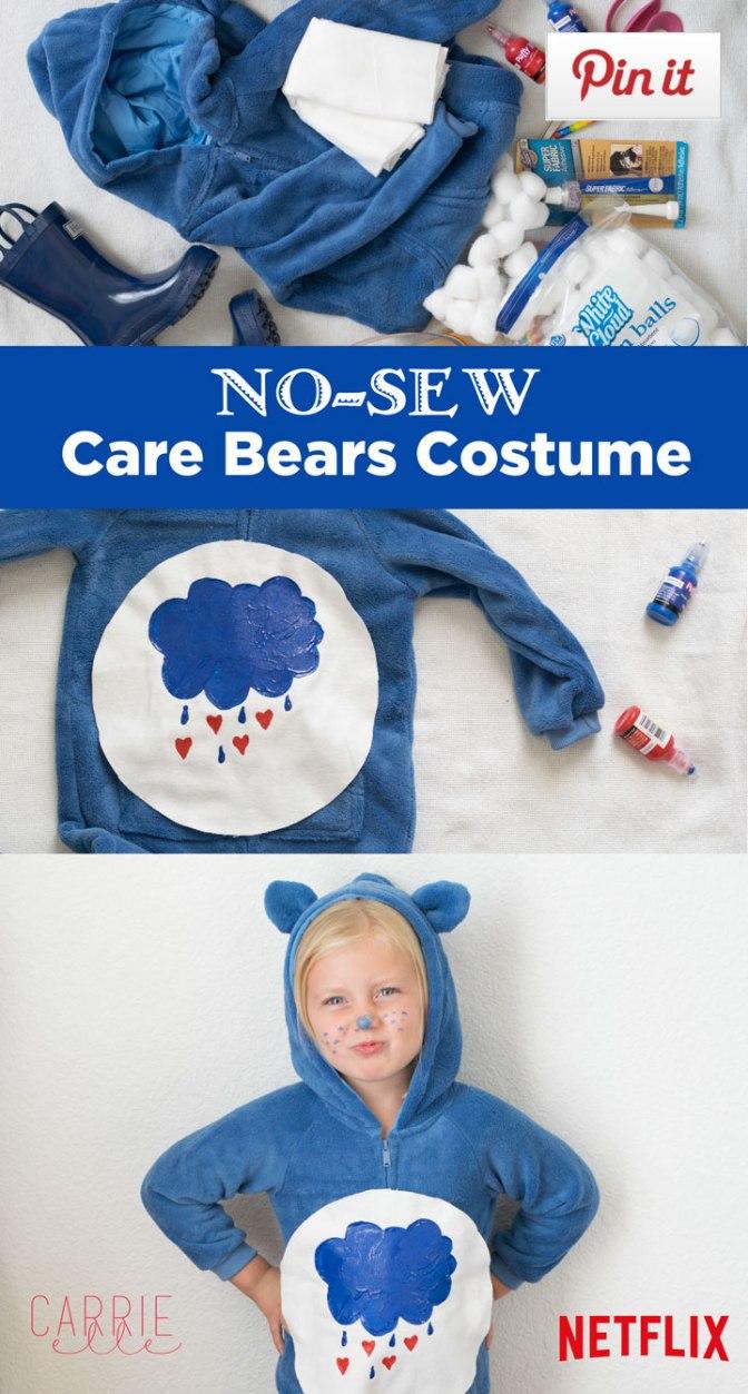 No-Sew Care Bears Costume