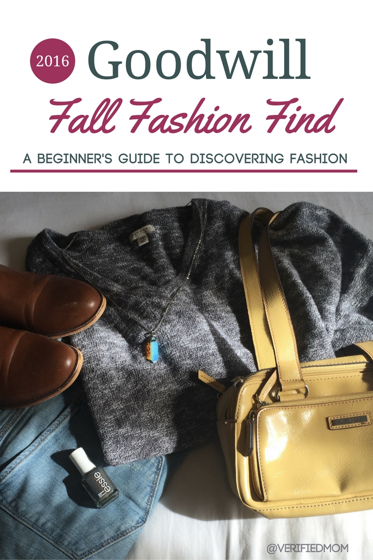 Goodwill Fall Fashion Finds 2016