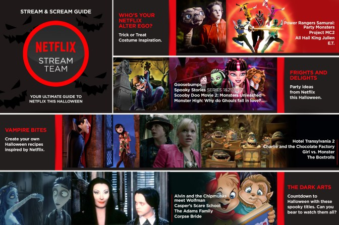 Stream and Scream with Netflix this Halloween