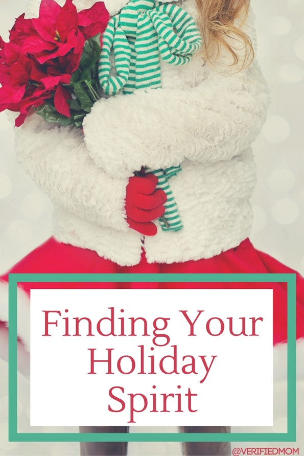 Finding Your Holiday Spirit