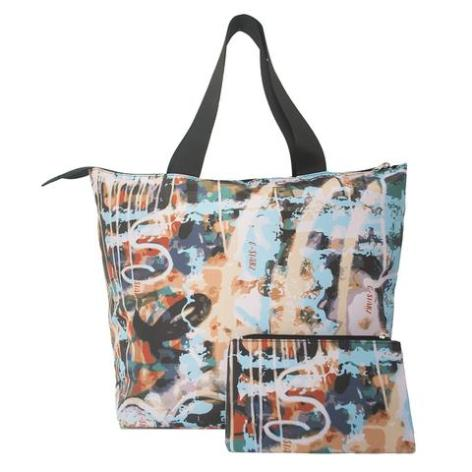 Lightweight Tote, packable, digital print in vibrant colors