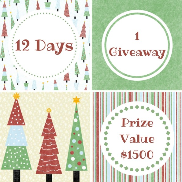12 Days of Blogmas Giveaway