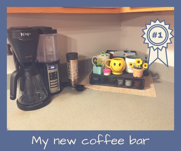 My New Coffee Bar!