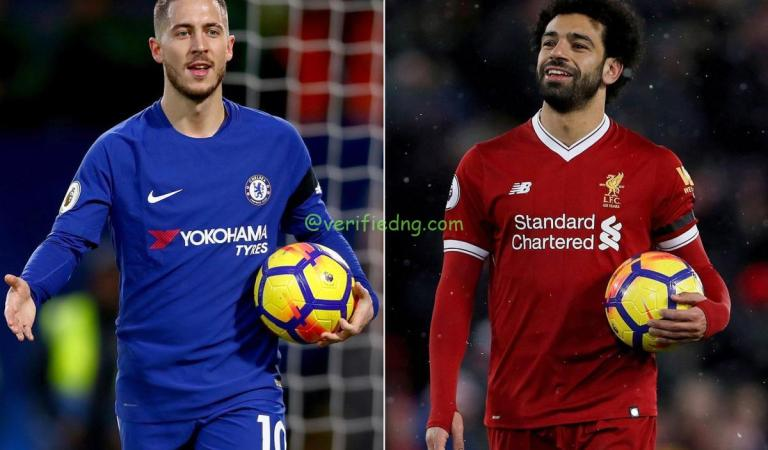 Real Madrid ready for Hazard-Salah swap with Liverpool