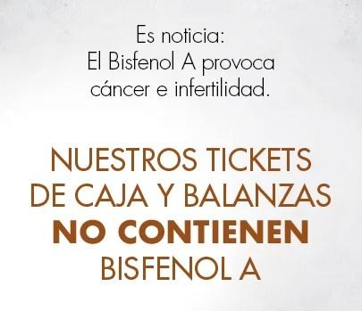 Ticket libre de bisfenol A