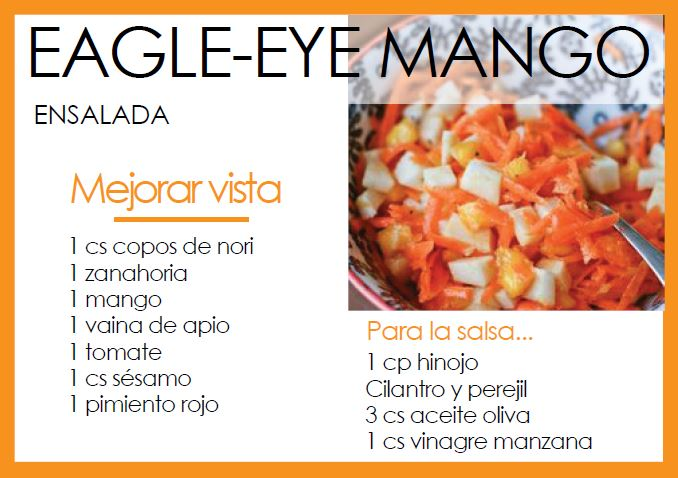 Ensalada eagle-eye mango - Veritas