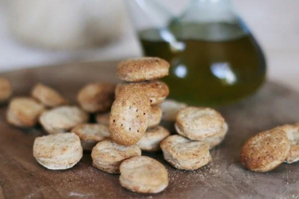 Galletas de aceite rústicas - Recetas - Veritas