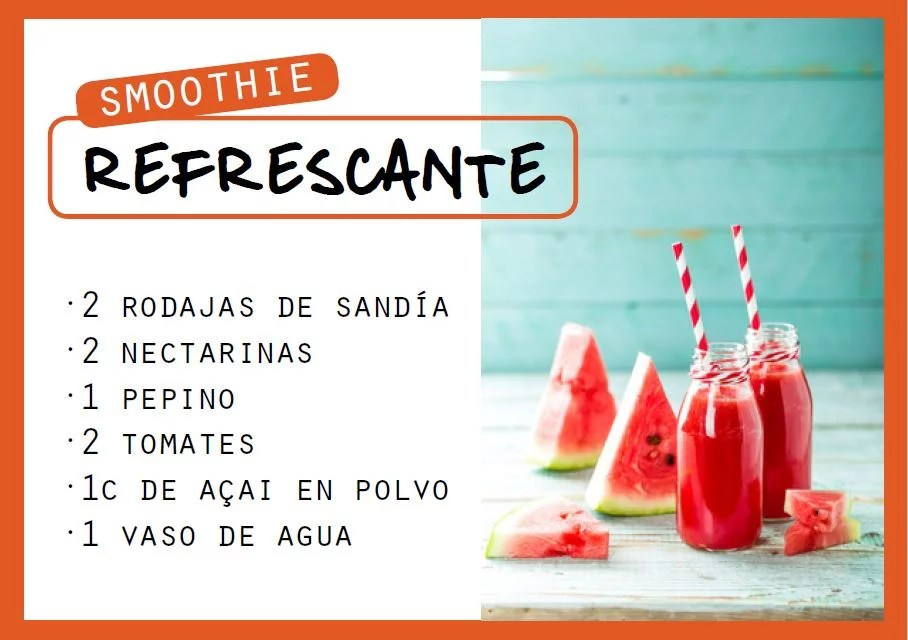 Smoothie refrescant - Veritas