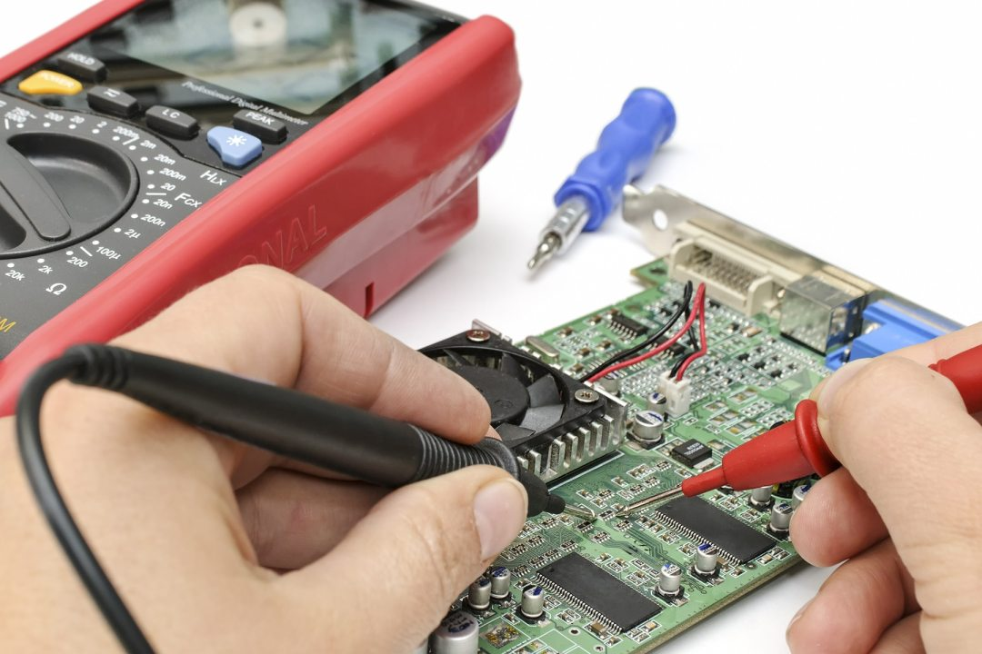 Electronics tester